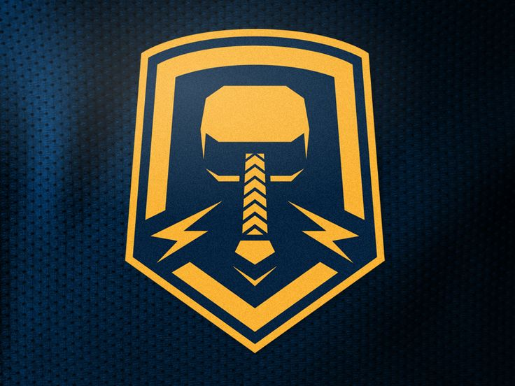Winning logo concept for the Stockholm Hammers at icethetics.co.