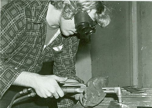 1970s tradie plumber #tafe #education #geelong #learning