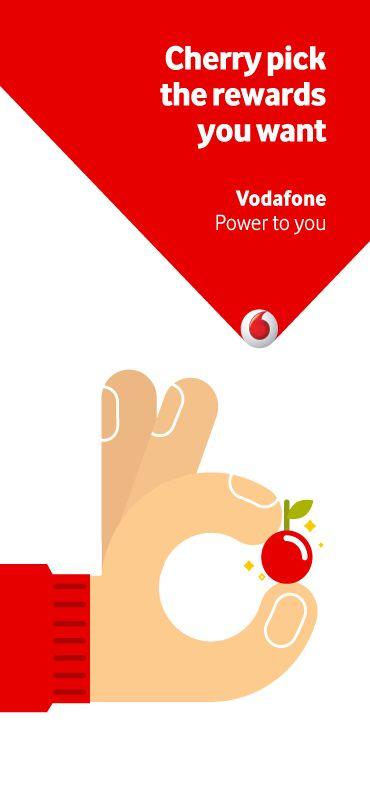 Vodafone Cherry Points. on Behance