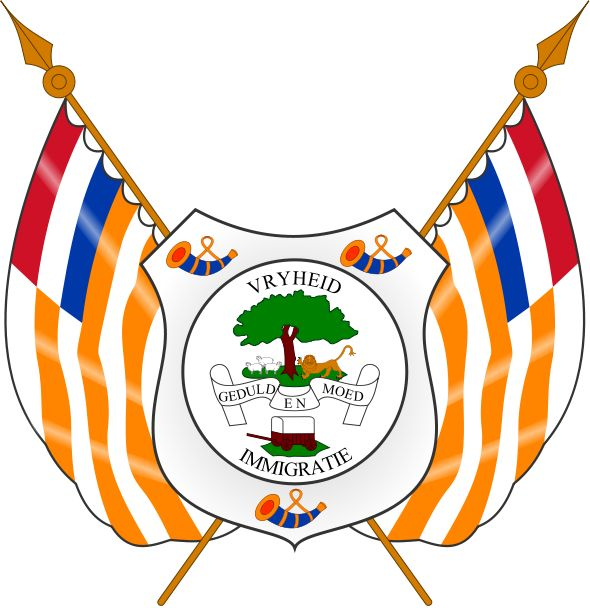 1854–1902 Coat of Arms of the Orange Free State.svg