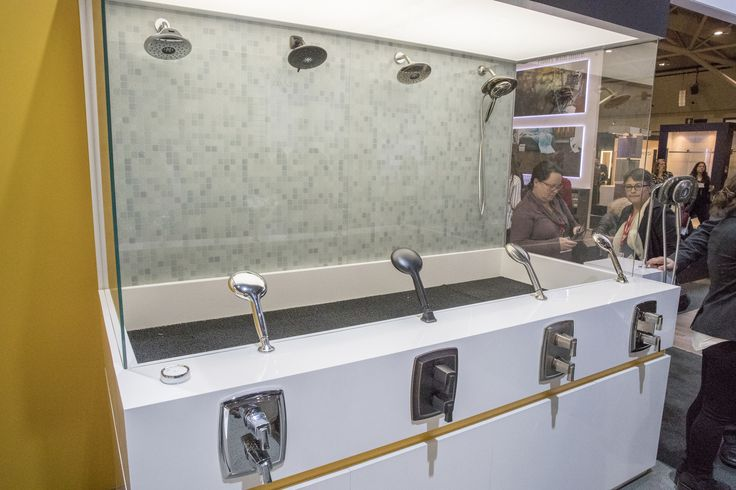 American Standard Spectra Shower display at IDS Toronto