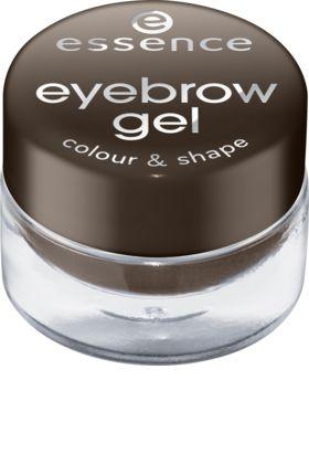 Für perfekte Farbe und Form: Mit dem essence cosmetics eyebrow gel colour & shape brown 01 können die Brauen perfekt betont werden. Das Augenbrauengel...