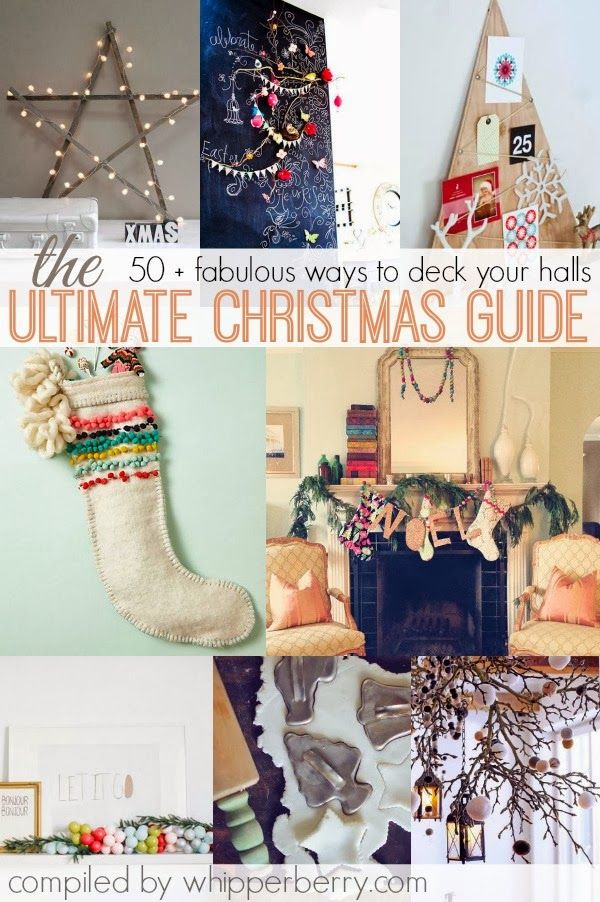 Come tickle your imagination with WhipperBerry's ULTIMATE CHRISTMAS GUIDE // 50+ Christmas ideas