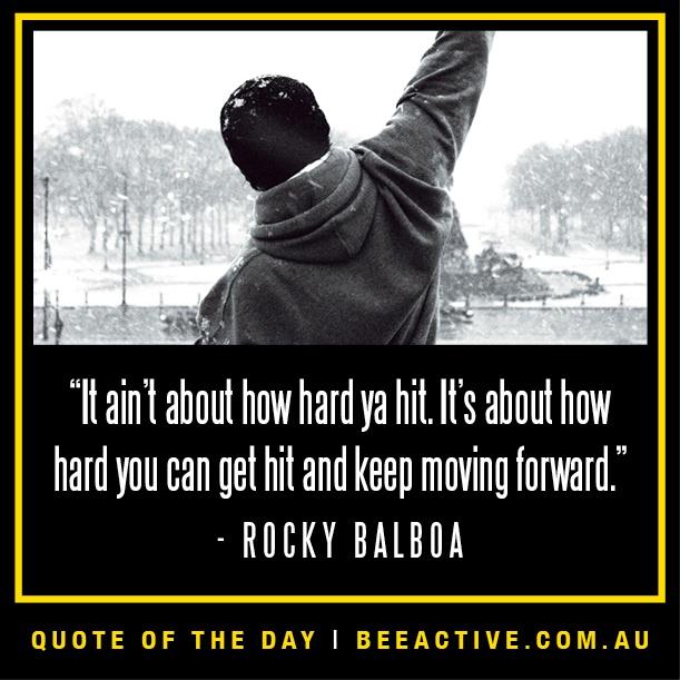 Rocky Balboa Life Is Hard Quote: #Motivation #Fitness #quotes #Rocky Balboa