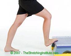 Shin splints stretch for shin splints treatment and prevention