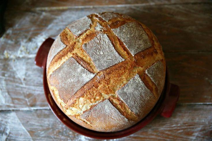 Рецепт - Самый простой домашний дрожжевой хлеб