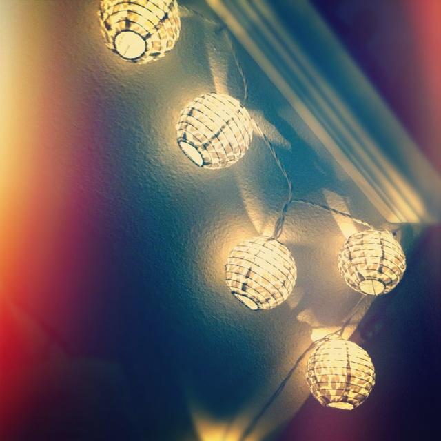 My bedroom lanterns <3