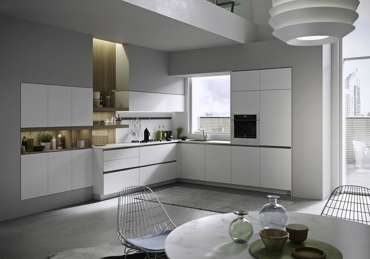 The minimalist elegance of the Joy project takes us back to what a kitchen has always been about: resilient materials coming together to create something great - right down to the last detail. Joy is a handleless kitchen. Its sleek appearance and uncluttered surfaces accentuate the beauty of the materials and design details.