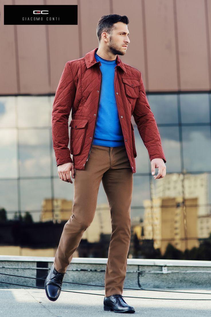 Moda męska Giacomo Conti - kolekcja Jesień/Zima 2014/2015. Kampania z udziałem Mistera Polski, Rafała Maślaka. #giacomoconti