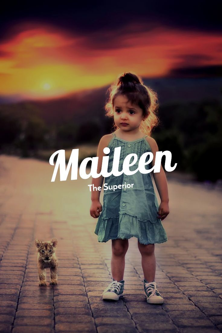 Maileen – Die Höchste #Girl #Name #Maileen #Super…