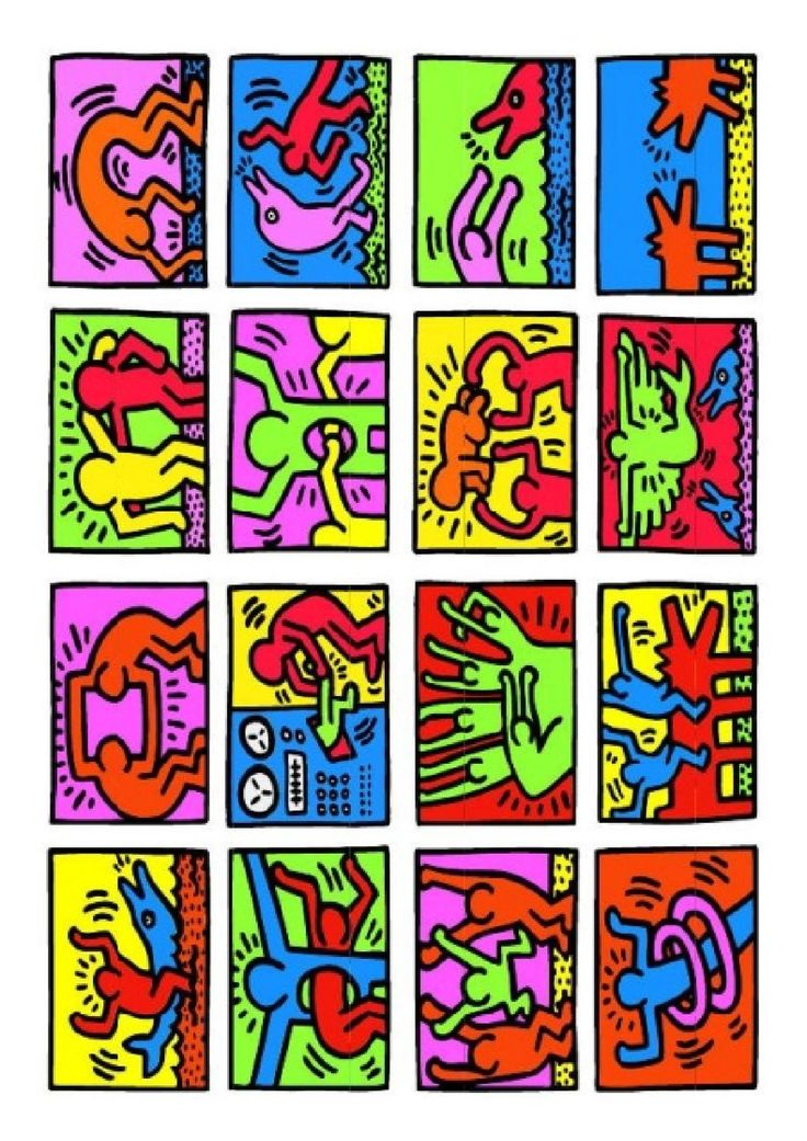 Hervorragend 75 best Keith Harring images on Pinterest | Keith haring art  MA12