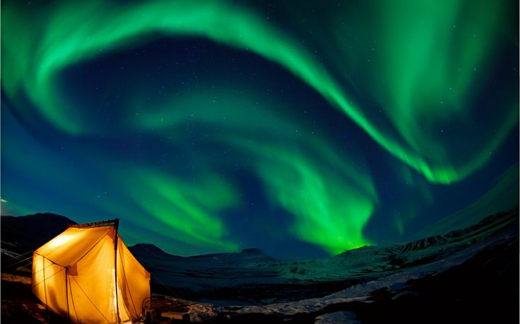 Aurora Village in Yellowknife is one of the few places you can view the Aurora Borealis in Canada--a naturally occuring light show.#yellowknife #canada #canadayday