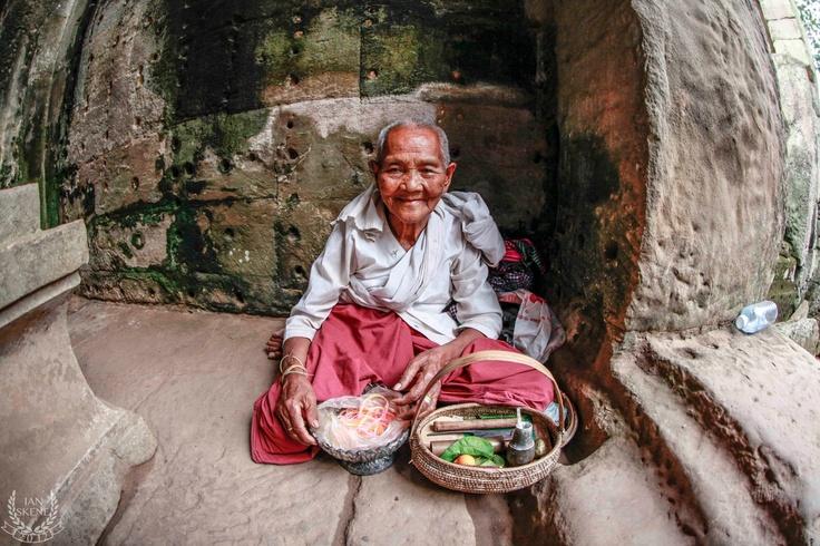 Women Buddhist , Angkor Wat, Cambodia