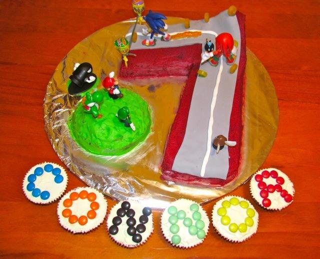 Sonic Birthday Cake! «