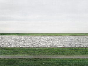 'Rhine II' by Andreas Gursky sold for $4.3 million at Christie's in New York
