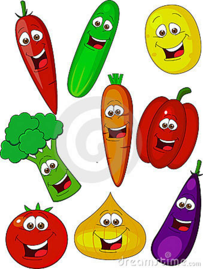 clip art cartoon vegetables - photo #20