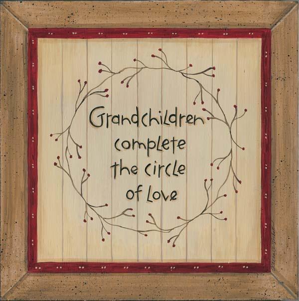 I love my grandchildren