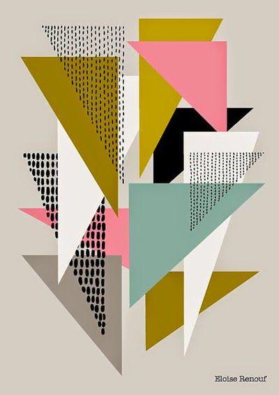 print & pattern blog - Esty Art Month : Eloise Renouf