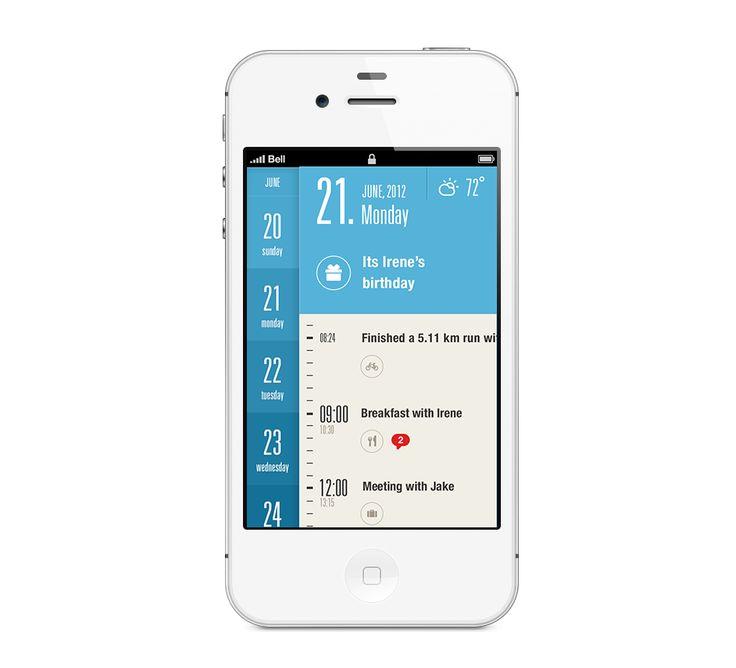 Beautiful calendar app (Metro Inspired)