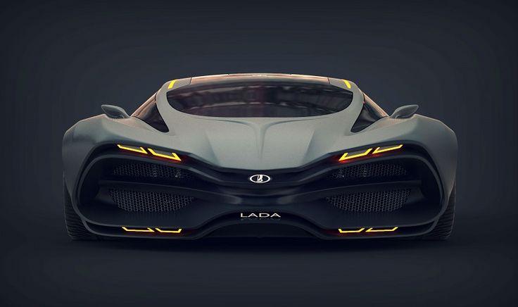 Lada Raven Concept Front View