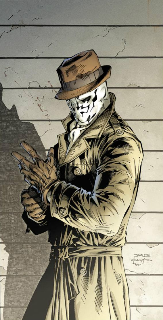 IF JIM LEE DID RORSCHACH, IT WOULD BLOW OUR MINDS!!!