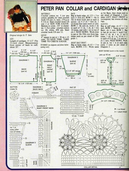 Вязание крючком. Модели, схемы, уроки