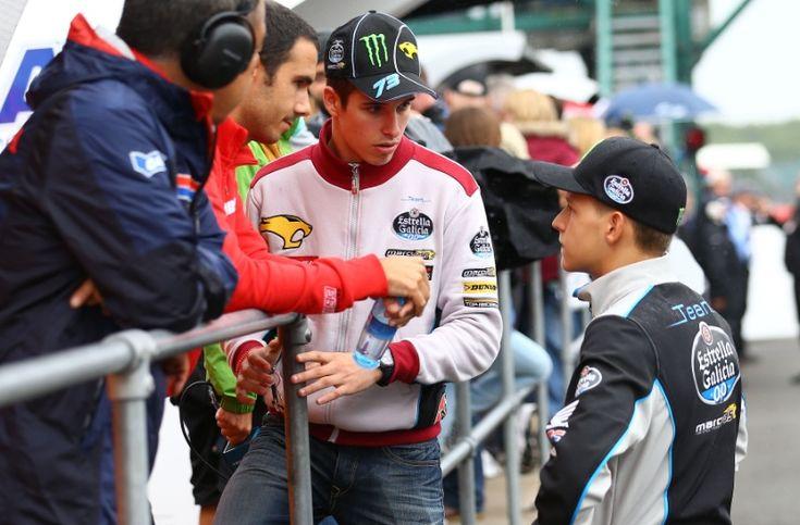 Alex Marquez and Quartararo, British MotoGP 2015