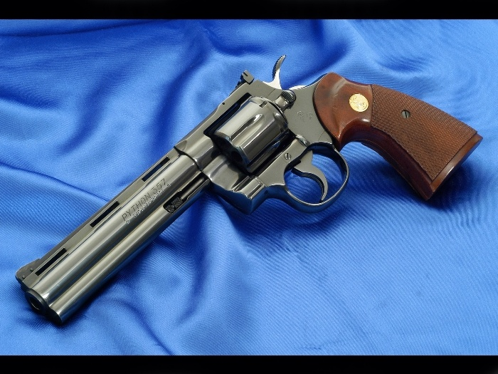 Colt Python .357 Magnum, one hell of a good looking gun
