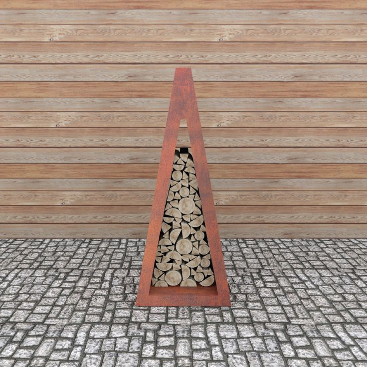 Wood Storage I  Wood storage unit for Quadro Line