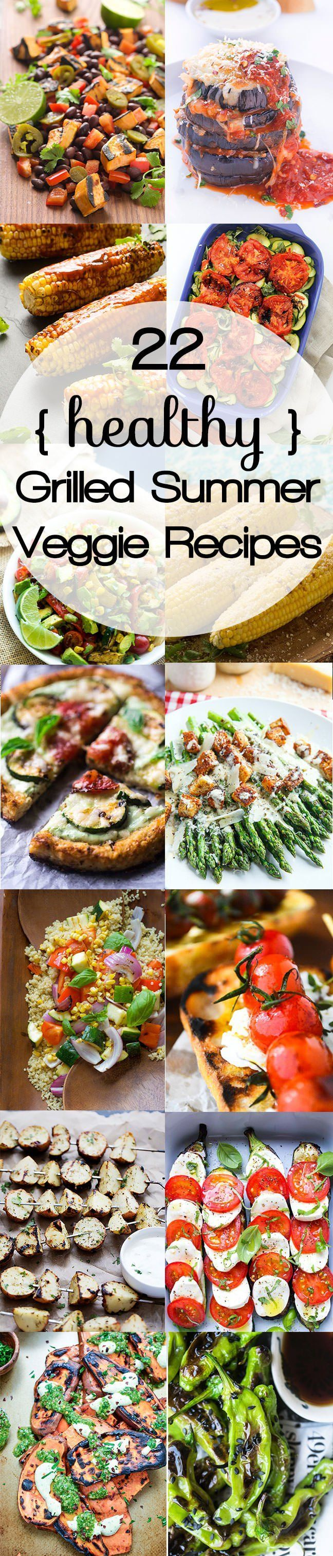 Take the entire dinner outside with these fired up side dishes! Everything from grilled potatoes, salads and even eggplant parmesan! So skip that oven and head to the grill!
