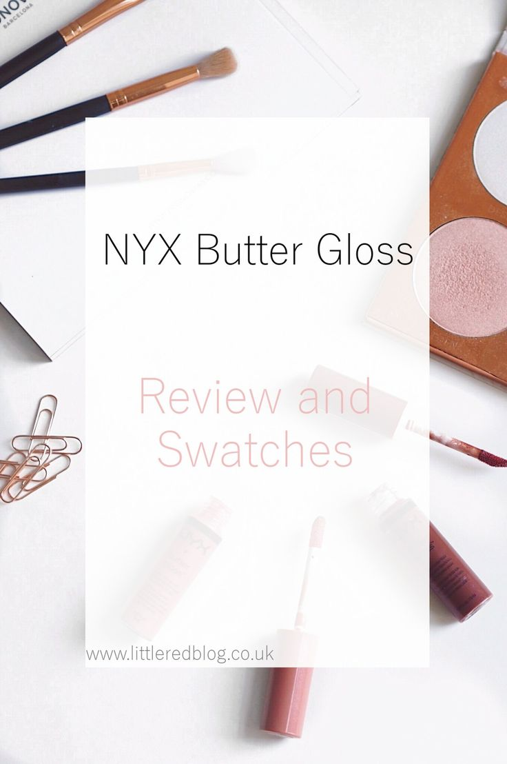 NYX Butter Gloss Review and Swatches