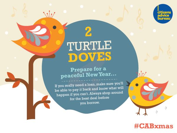 If you're considering taking out a loan, shop around and compare the interest and charges before you borrow #CABxmas