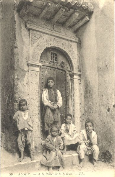 Enfants de la casbah d'Alger