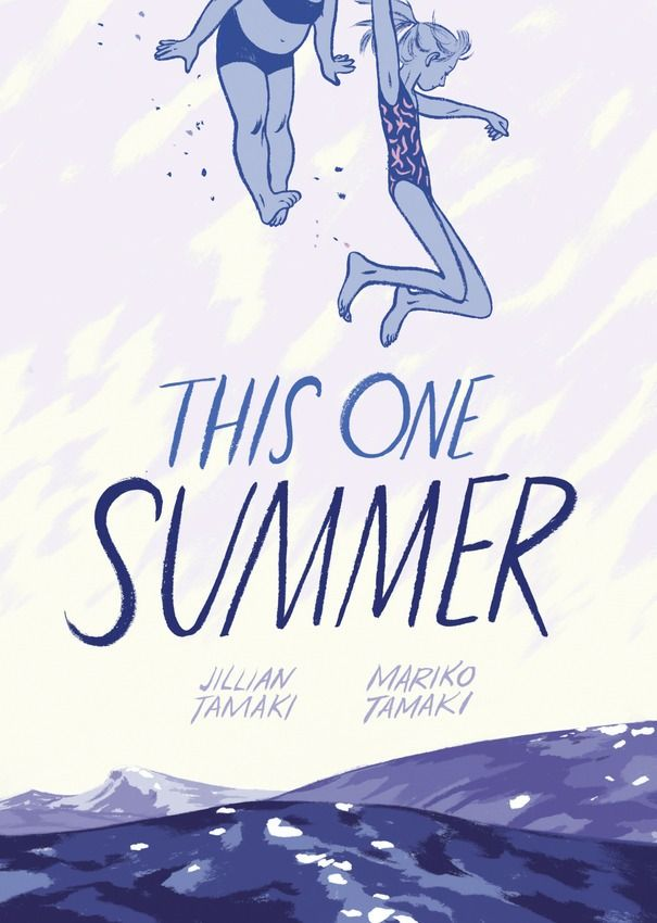 """Looking for new graphic novels to try this summer? Check out """"This One Summer"""" by Mariko Tamaki and Jillian Tamaki."""