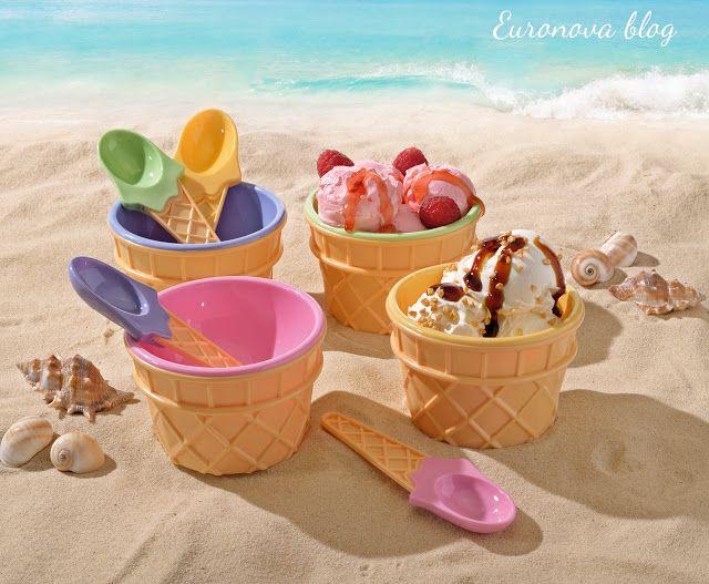 A Casa di Euronova: 4 Passi facili e veloci per preparare un gelato salutare