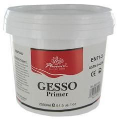 DIY chalk paint using a 50/50 mixture of gesso and latex paint...very similar to Anne Sloane chalk paint.