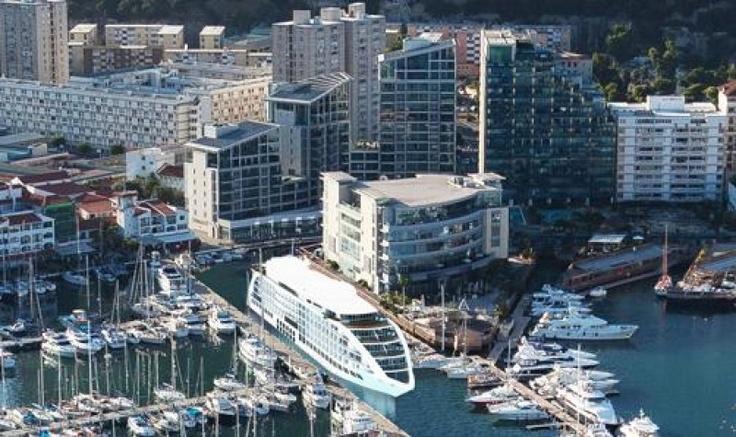 Un hotel de lux plutitor va fi instalat în Gibraltar