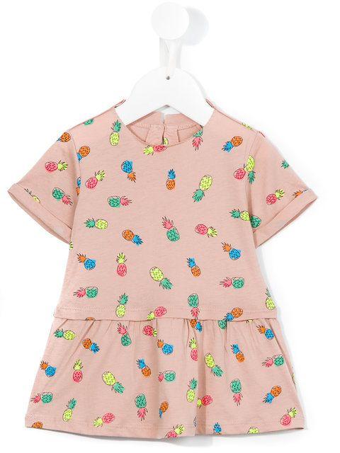 Stella Mccartney Kids pineapple print dress