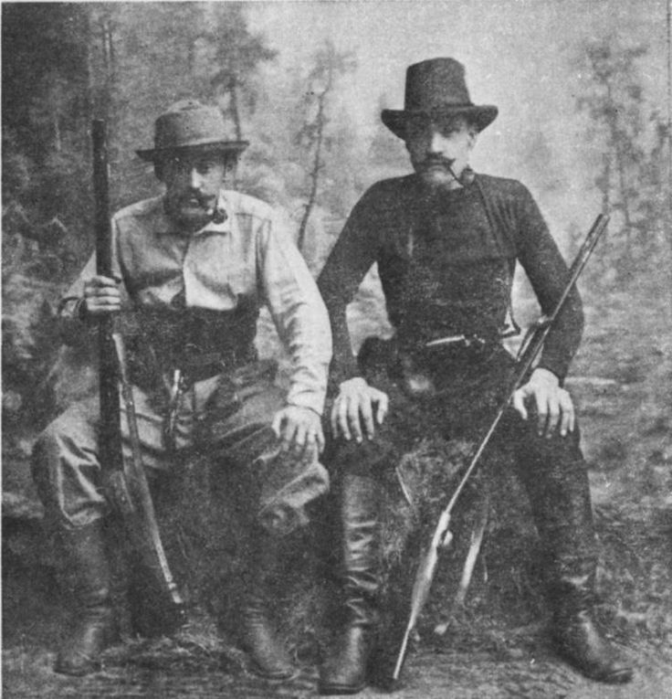 Akseli Gallen-Kallela and Louis Sparre, 1889.