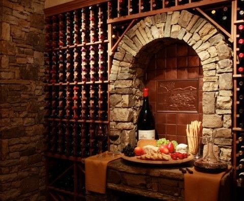 49 best wine cellars with stone style. images on pinterest