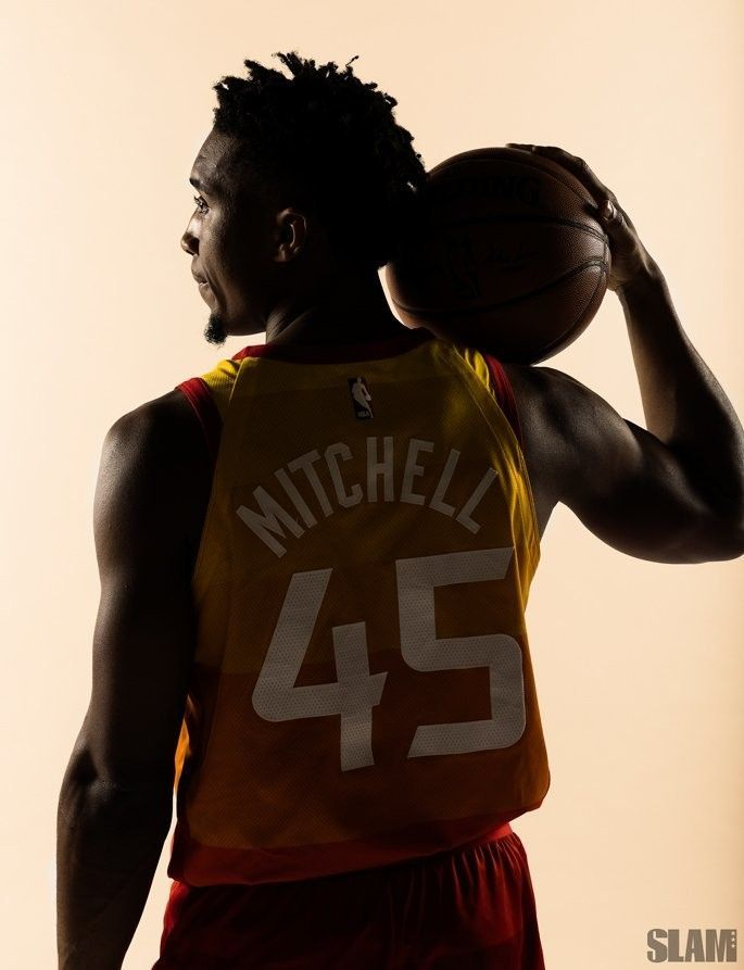 Donovan Mitchell, a true bucket getter. Potential scoring leader one day in the …  – Basketball