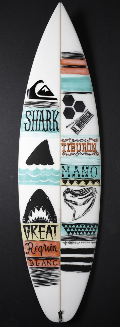 Quiksilver – Shark Week Board