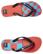 QUIKSILVER KIDS DANE REYNOLDS THONG - BLACK GREY RED