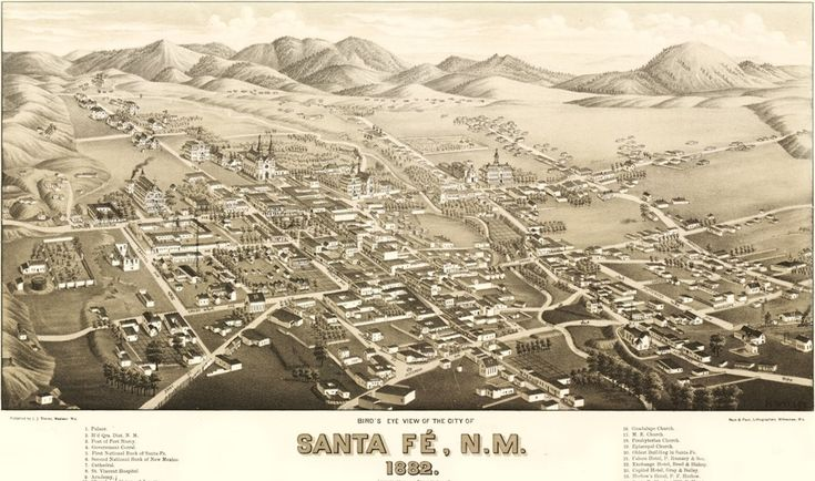 Oldest capital city_Santa Fe is old. It's the oldest capital city in North America and the oldest European community west of the Mississippi.   It has the oldest record of any city now in the U.S., as it dates back to 1580, when it was founded by Don Pedro de Peralta.