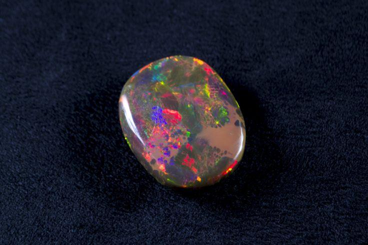 Fire Opal, Ethiopia www.gemhunter.com