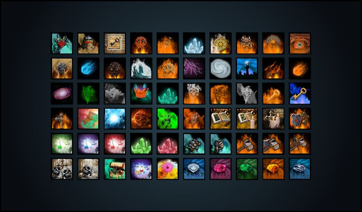 QS Skill Icon Pack - Asset Store