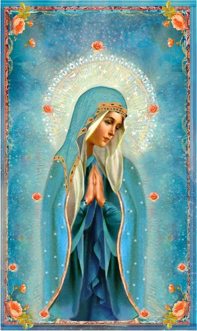 Beautiful, Mother of Roses, Queen of Heaven: