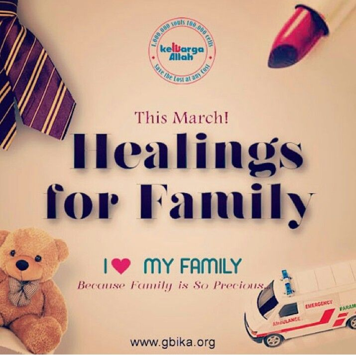 Healing for Family