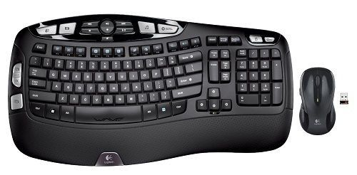 Logitech MK550 Keyboard and Laser Mouse Wireless Wave Combo Unifying receiver #Logitech