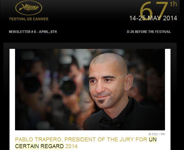 Un certain regard : Pablo Trapero président du jury et le film français «Party Girl» en ouverture